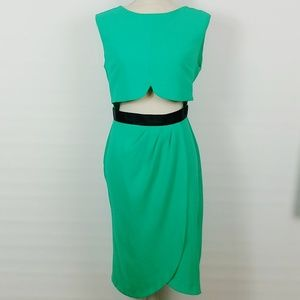 Asos | Front Midriff Cutout Dress